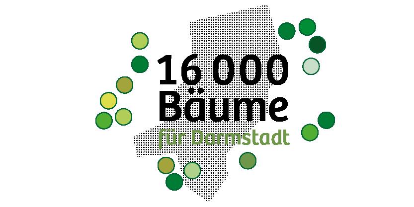 16000 Bäume für Darmstadt